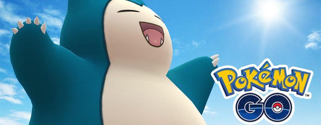 Título de Pokémon GO Snorlax