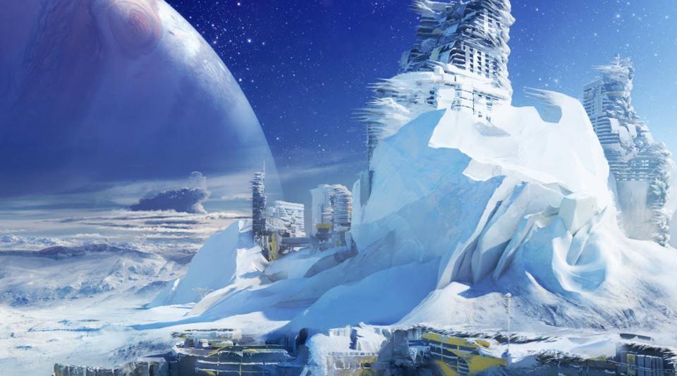 Concepto de Destiny 2 Europe