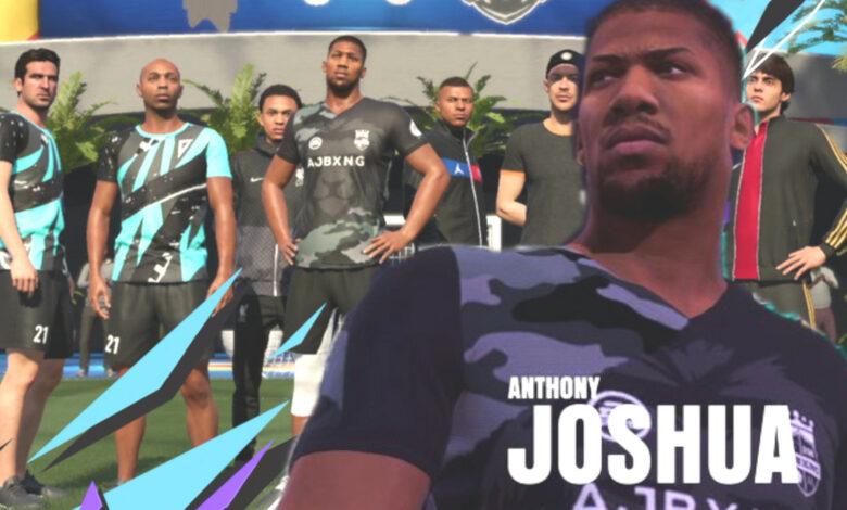 Loco: en FIFA 21 puedes jugar con estrellas que no son futbolistas en absoluto