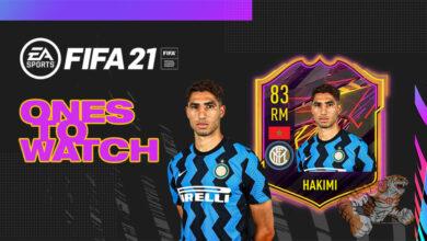 FIFA 21: OTW Achraf Hakimi - Anunciada la tarjeta Ones To Watch