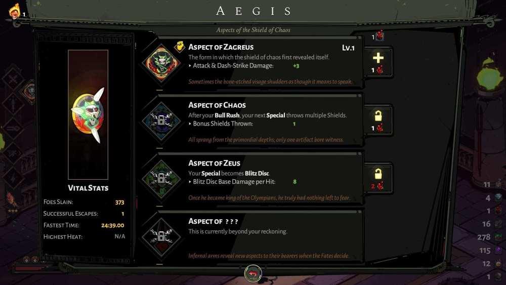Las mejores armas de Hades