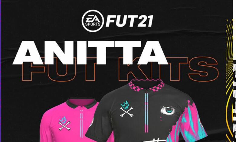 FIFA 21: Anitta Kits anunciados para el modo FUT