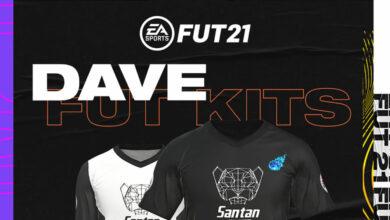 FIFA 21: se revelan los kits exclusivos de Dave FUT