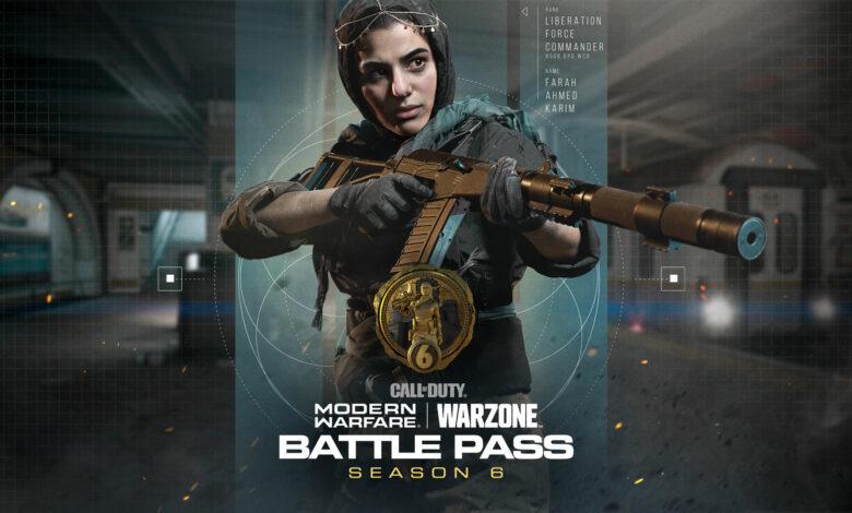 CoD MW & Warzone: Season 6 Battle Pass - Todos los niveles y sus recompensas