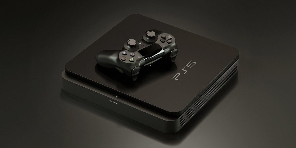 Diseño de PS5 - cuboide