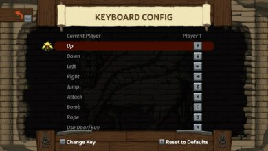 Photo of Spelunky 2: controles de teclado y combinaciones de teclas