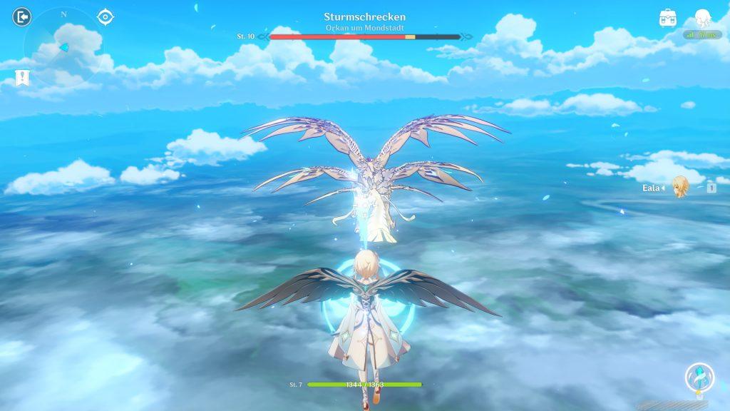 Dragón luchador Genshin Impact