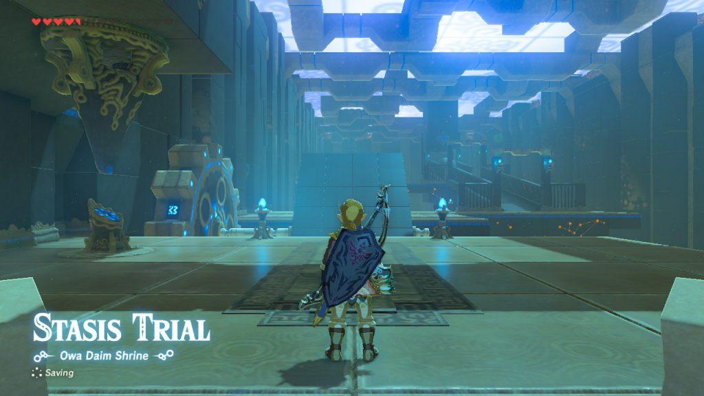 Salto del templo de Zelda BOTW