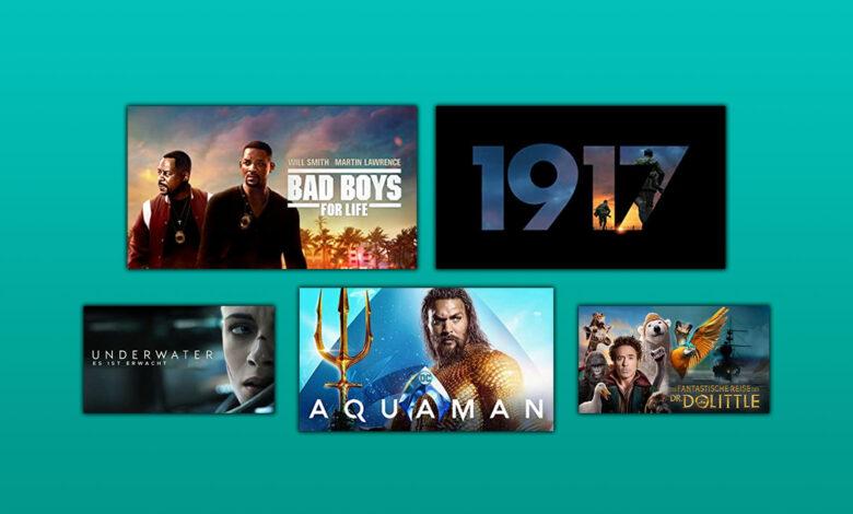 Alquile Prime Video Films: Bad Boys 3, 1917 y Aquaman por 97 centavos