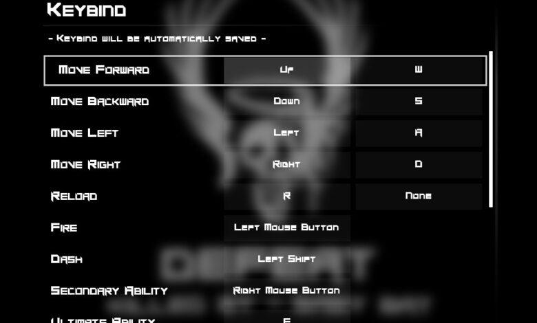 BPM Bullets Per Minute: controles de teclado y combinaciones de teclas