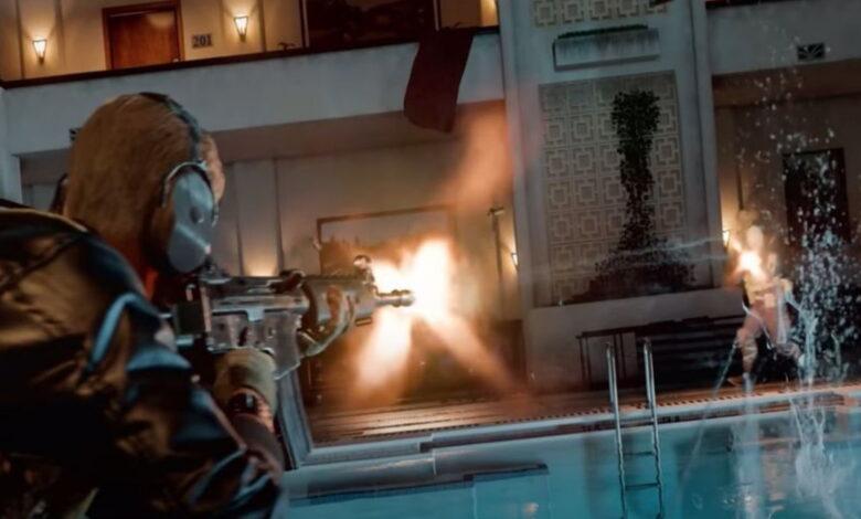 CoD Cold War: los jugadores celebran un trampolín fresco junto a la piscina: garantiza muertes descaradas