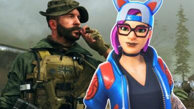 CoD MW quería ser un tirador duro, pero ahora hay máscaras como las de Fortnite