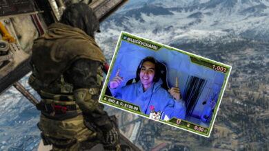 CoD Warzone: Streamer imita lo que ve en un video genial de TikTok: falla increíble