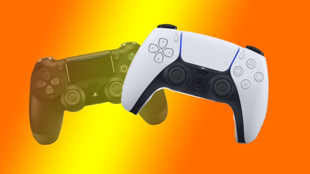 Controlador PS5 Título del controlador PS4
