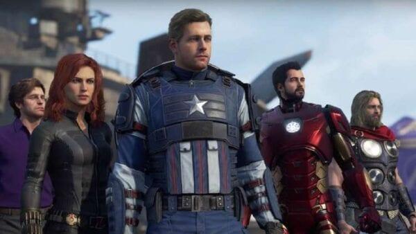 actores de voz de los vengadores de Marvel