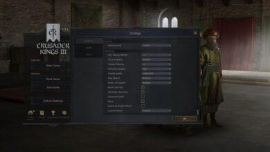 Photo of Crusader Kings 3 – Mejores configuraciones de gráficos