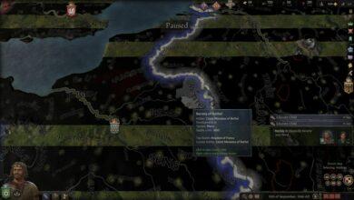 Crusader Kings 3 - Problemas de zoom, cámara y mapa negro - Cómo solucionarlo