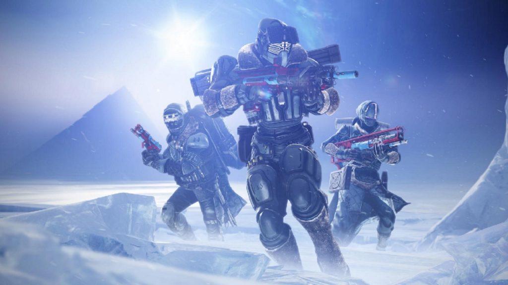 Guardian Destiny 2 más allá de la luz más allá de la luz