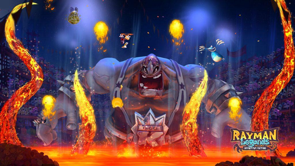 Patada de Rayman Legends