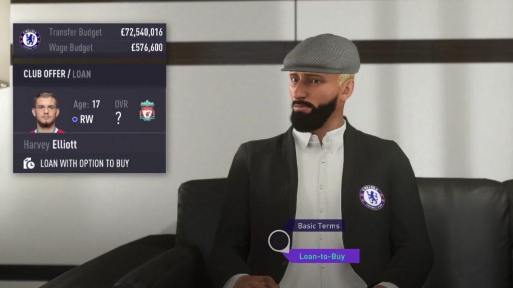 Negociación de carrera en FIFA 21