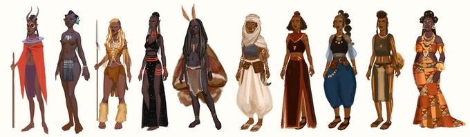 Personajes de las Crónicas de Wagadu