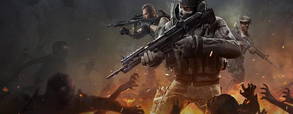Título de Call of Duty Mobile Zombies
