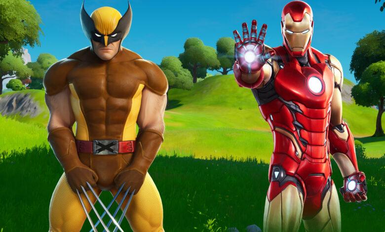 En Fortnite, un jugador se apresura a los jefes de Marvel: el resultado es excelente