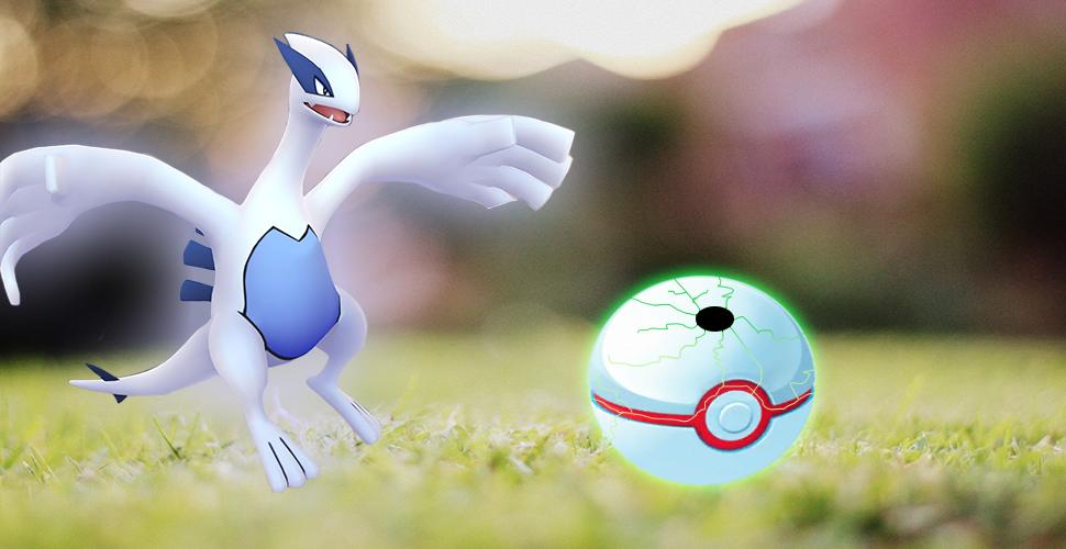 Bola Premier de Pokémon GO rota