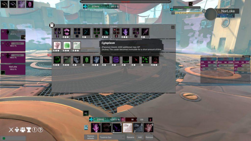 Habilidades de lucha contra jefes de Cellyon Steam Co-op