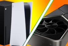 "Photo of Experto en hardware: las tarjetas ""RTX 3000"" de Nvidia compiten con PS5, Xbox Series X."
