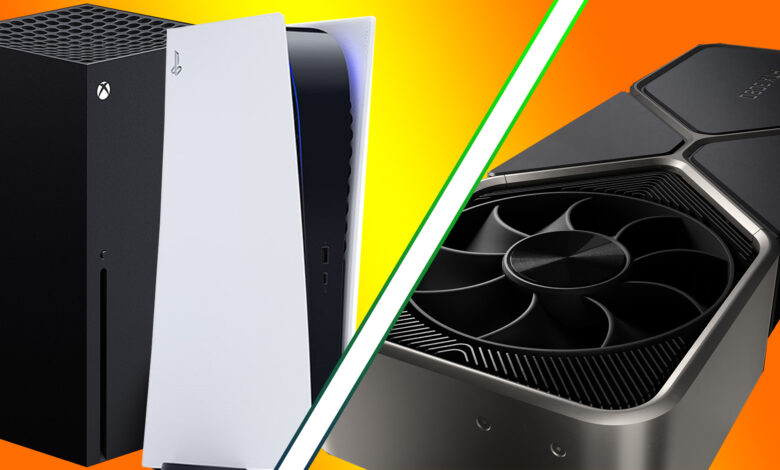 "Experto en hardware: las tarjetas ""RTX 3000"" de Nvidia compiten con PS5, Xbox Series X."