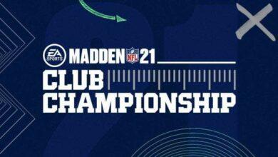 Photo of Explicación de los detalles del Madden 21 Club Championship