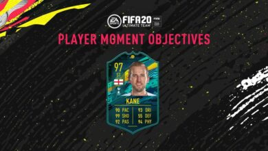 FIFA 20: Goles Harry Kane Player Moments - Pretemporada