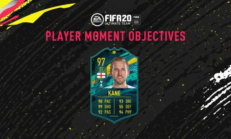 FIFA 20: Goles Harry Kane Player Moments - Pretemporada