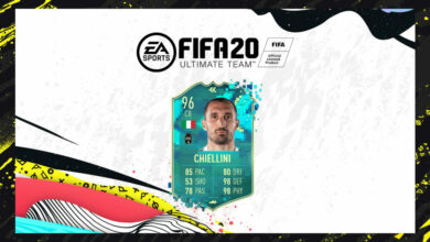 FIFA 20: SBC Giorgio Chiellini Flashback Pretemporada