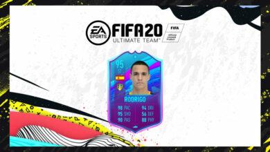 FIFA 20: SBC Rodrigo Moreno - Pretemporada