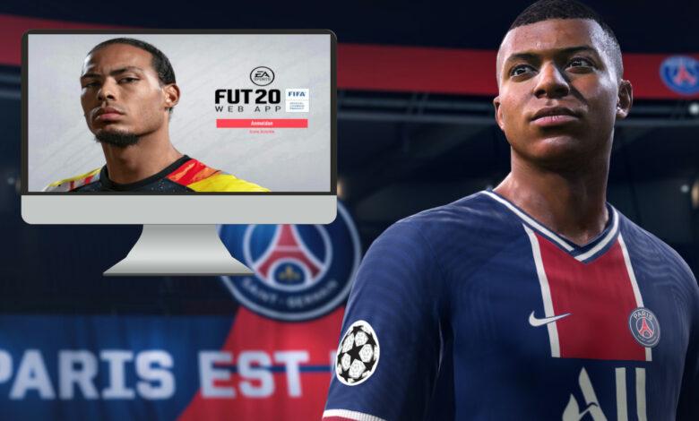 FIFA 20 apaga la aplicación web hoy, ¿qué significa eso para tu Ultimate Team?