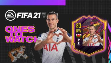 FIFA 21: EA Sports celebra el regreso de Gareth Bale al Tottenham con la tarjeta Ones To Watch