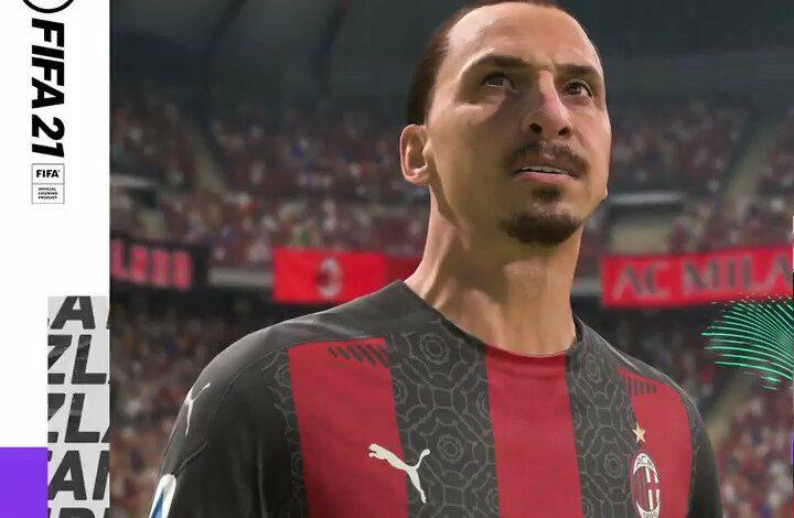 FIFA 21: EA Sports celebra la renovación del contrato de Ibrahimovic con el Milán