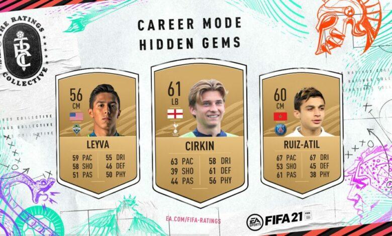 FIFA 21: Gemas ocultas del modo Carrera - Lista oficial