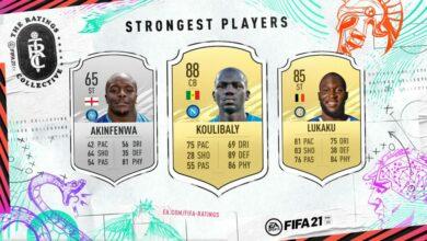 FIFA 21: Los jugadores físicamente más fuertes - Lista oficial