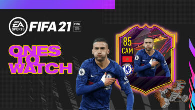 FIFA 21: OTW Hakim Ziyech - Se revela la tarjeta Third Ones To Watch