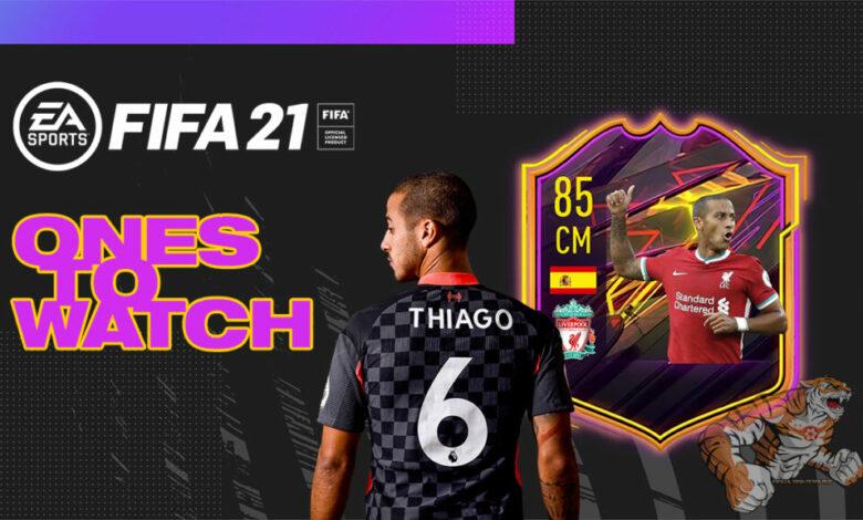 FIFA 21: OTW Thiago Alcantara - Anunciada la tarjeta Ones To Watch