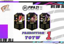Photo of FIFA 21: Predicción TOTW 1 del modo Ultimate Team