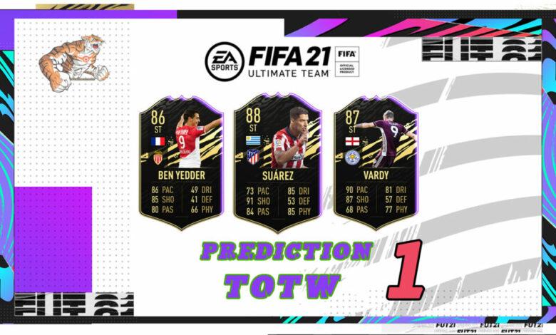 FIFA 21: Predicción TOTW 1 del modo Ultimate Team