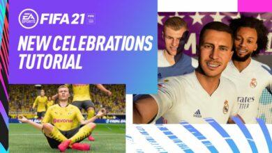 FIFA 21: Se acerca un video dedicado a las celebraciones