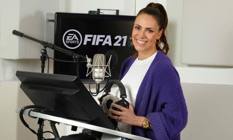 FIFA 21: la periodista Esther Sedlaczek entre las voces del comentario en alemán