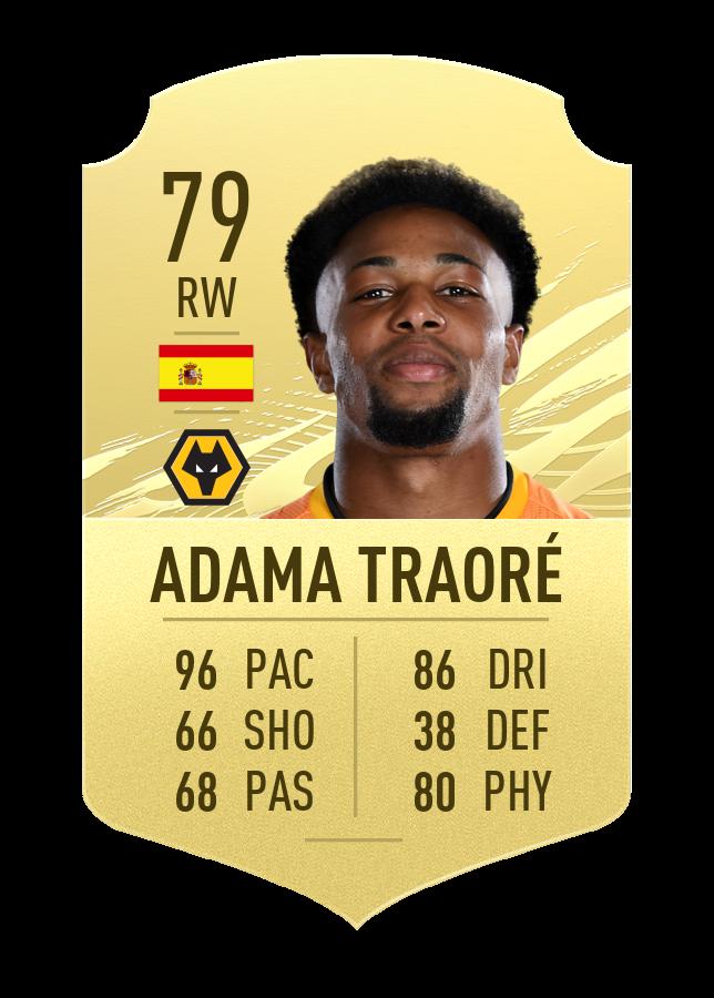 FIFA 21 Adama Traore
