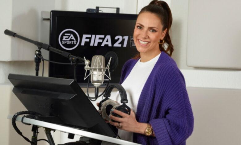FIFA 21 obtiene la primera presentadora femenina: a los fanáticos les encanta