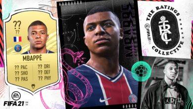 FIFA 21 revela nuevas calificaciones: aquí están los 10 mejores jugadores